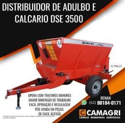 Distribuidor de adubos e calcário esteira 80cm 3500T