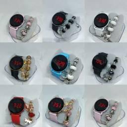 Relógio led kit promocional dia das Mães 35.00