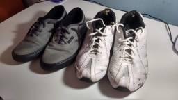 Dois calçados: Tam 38.