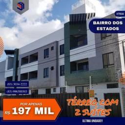 Título do anúncio: Apartamento para Venda em João Pessoa, Bairro dos Estados, 2 dormitórios, 2 suítes, 2 banh