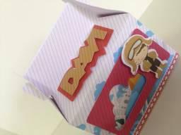 Caixinhas personalizadas para aniversário