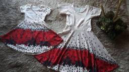 Vestido Midi Conj. (Mãe & FIlha)