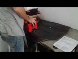 Remarcação de chassi e motor veicular