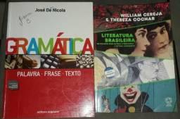 Livros Gramática e literatura brasileira