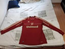 Vendo camisa Fluminense grená 2012, Manga Longa, Tamanho G , Semi nova