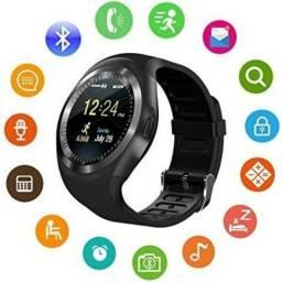 Smartwatch Y1 Chip 3g Cartão SD