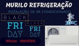 Promoção: instalação e manutenção de ar condicionados