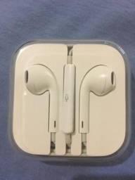 Fone de ouvidos ORIGINAL do IPhone!!! BARBADAAAAA
