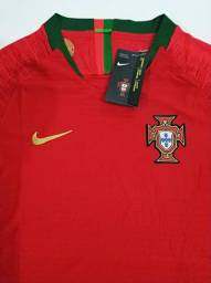 Camisa Portugal I Player 18/19 - Tam.: G