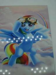 Título do anúncio: Placa Decorativa Unicórnio 26x20cm Mod02
