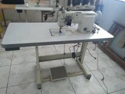 Máquina costura 2 agulhas