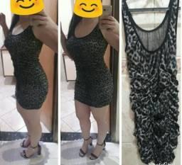 3 vestidos e 1 saia longa