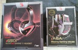 Headset/Mouse Bloody & Mouse Redragon