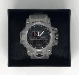 Relógio Casio G-shock Mudmaster Com Pulseira e Caixa Transparente Garantia Produto Novo