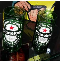 Copos Heineken, 200 ml. Cada 6,00