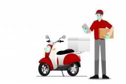 Motoqueiro ou ciclista