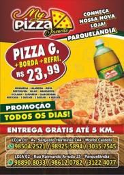 Pizza borda e Refri entrega grátis
