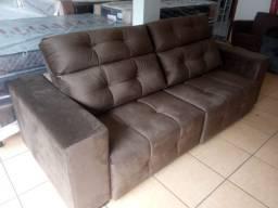 Sofá retrátil e reclinável 2,45