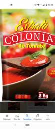 Extrato tomate 2 kg colonial