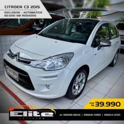 Citröen C3 Exclusive 1.6 Automático 2015
