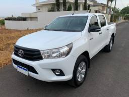 Hilux CD 2017 - 4X4 Diesel - Excelente estado - câmbio manual