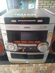 Vendo rádio 3cd Philips