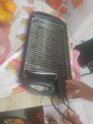 Churrasqueira Elétrica Grill Preto<br>