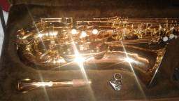 Vendo sax tenor weril espectra 2 semi novo
