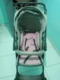 Carrinho de bebê para menina