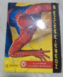 Título do anúncio: Álbum de figurinhas homem aranha 2