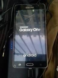 Vendo celular novo pra sai logo Galaxy on 7