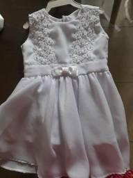 Vestido para batizado de bebê