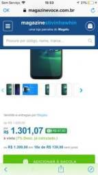 Smartphone Motorola G8 Plus 64GB Azul Safira 4G - 4GB RAM