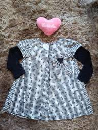 Vestido infantil tamanho:3