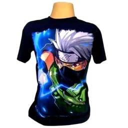 Camiseta camisa do kakashi lançamento novidade de 59,90 por 39,90
