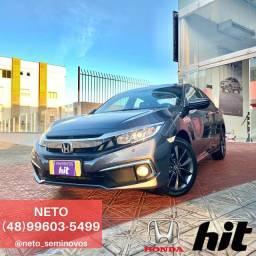 NETO - Honda Civic EXL 2.0 2020 - 1 (Um) mil km