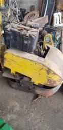 Compactador sapao com motor agrale para asfalto tapa buraco *