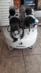 Compressor odontológico cristofoli