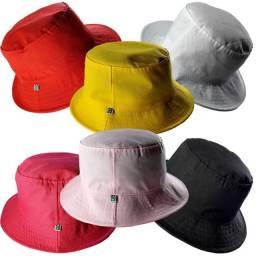Bucket hat várias cores