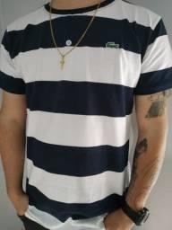 Camisa Malha Peruana Elastano