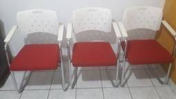 4 cadeiras de escritório