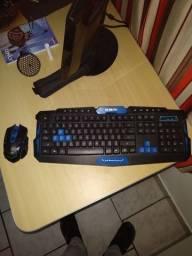 Kit Gamer - Teclado e Mouse SEM FIO (Wireless)?
