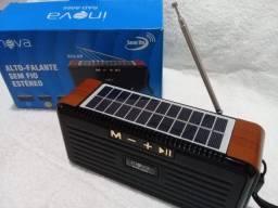 Radio solar sustentável FM Bluetooth,cartão De Memoria,pendrive,
