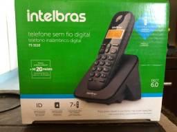 Telefone sem fio Intelbrás na caixa