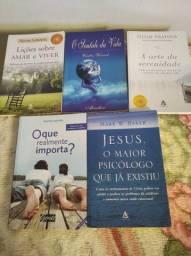 Kit com 5 livros