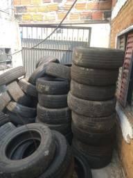 Lotes de pneus riscados e meia vida