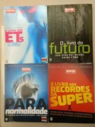 Revistas SuperInteressante edição de colecionador 4 Revistas