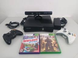 Xbox 360 Slim completo - ou troco