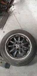 Vendo 04 Rodas de liga com pneus - Aro 16