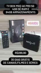 TV BOX MXQ 4K PRO 5G 4/64